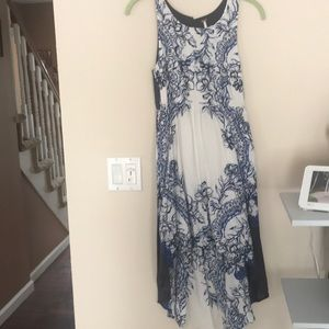High low free people dress